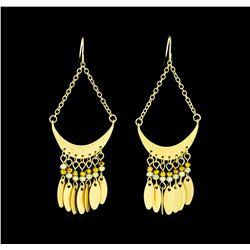 Half Moon Earrings - Gold Plated