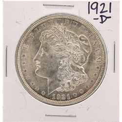 1921-D $1 Morgan Silver Dollar Coin