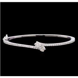 1.92 ctw Diamond Bracelet - 14KT White Gold