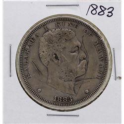 1883 $1 Kingdom of Hawaii Dollar Coin