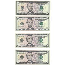 (10) Consecutive 2006 $5 FRN Star Notes CHCU