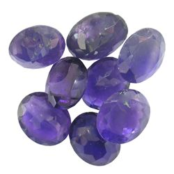 36.81 ctw Oval Mixed Amethyst Parcel
