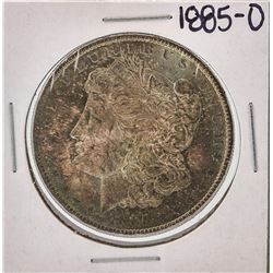 1885-O $1 Morgan Silver Dollar Coin Great Color