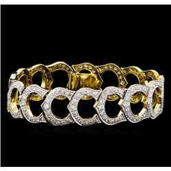 5.11 ctw Diamond Bracelet - 18KT Yellow Gold