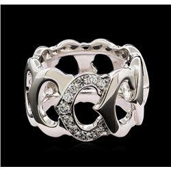 Cartier 0.28 ctw Diamond Ring - 18KT White Gold
