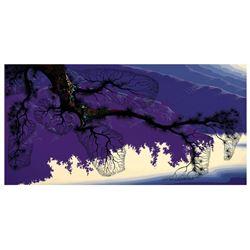 Purple Coastline by Eyvind Earle (1916-2000)