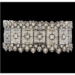 18.54 ctw Diamond Bracelet - 14KT White Gold