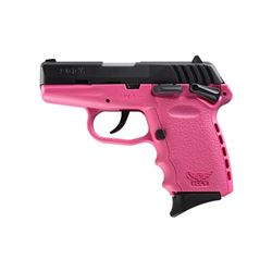 """SCCY CPX-1 9MM 10RD 3.1"""" BL/PINK"""
