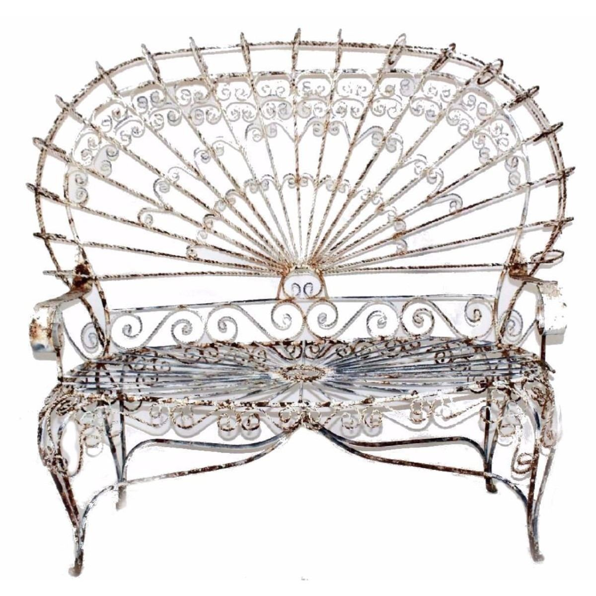 Brilliant Antique Garden Bench Pabps2019 Chair Design Images Pabps2019Com