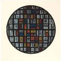 John Culik, Tondo II, Aquatint Etching