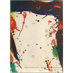 Sam Francis, Smithsonian Offset Lithograph
