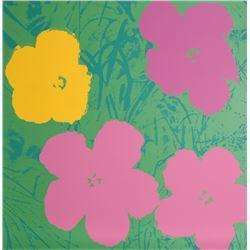Andy Warhol, Flowers 7, Serigraph
