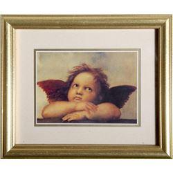 Raphael Sanzio da Urbino, Angel de la Capilla Sixtina, Poster