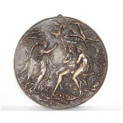 Bronze Plate Guardian Angel