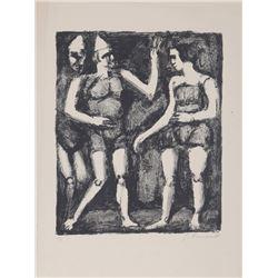 Georges Rouault, La Parade, Lithograph