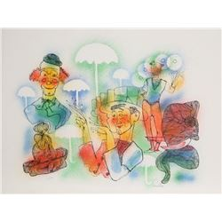 Carrillo, Clown Parade, Lithograph