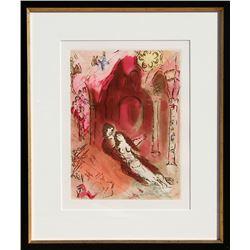 Marc Chagall, Granada, Aquatint Etching (Restrike)