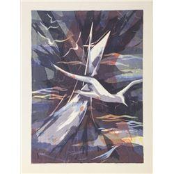 Patricia Heard, Sea Dream, Lithograph