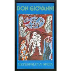Andre Masson, Don Giovanni (Metropolitan Opera), Poster