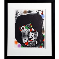 Joan Miro, Les Revolutions Sceniques du XXe Siecle - I (Cramer 207), Lithograph