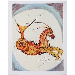 Salvador Dali, Capricorn, Poster
