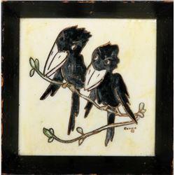 Bonnie, Two Crows, Ceramic Tile