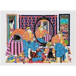 Estelle Ginsburg, Klimt, Serigraph