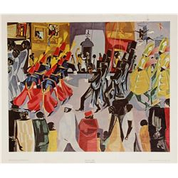 Jacob Lawrence, Parade, Poster