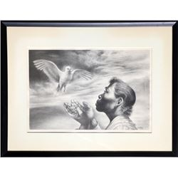 Charles White, Dawn of Life, Offset Lithograph