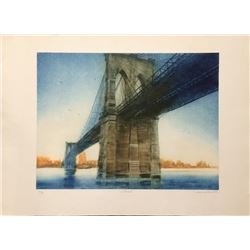 Harvey Kidder, Centennial, Aquatint Etching