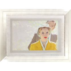 Robert G. Harris, Louisa, Please Come Home (Grace Kelly), Acrylic Painting