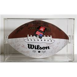 Vikings Autographed 2000 Superbowl Football NFL Collectible