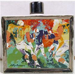 LeRoy Neiman, Football - Satinwood Whisky, Ceramic Bottle