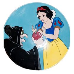 Disney Snow White and Poison Apple (Mark Davis), Ceramic Charger Plate