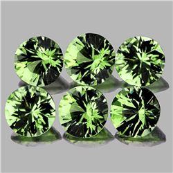 Natural Green Tourmaline 3.90 MM - VVS