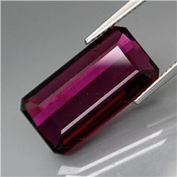 Natural BIG Raspberry Pink Tourmaline 9.12 Cts