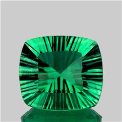 Natural Emerald Green Fluorite 21.20 Cts - Flawless