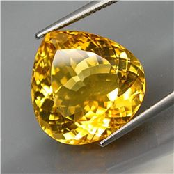 Natural  Brazil Yellow Citrine 17.46 Cts