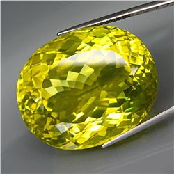 Natural JUMBO Lemon Yellow Quartz 85.17 Ct
