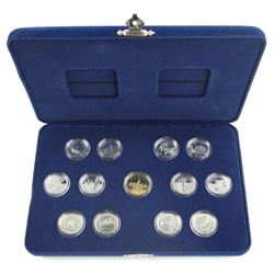 Canada 125 Sterling Silver Proof 25c Collection