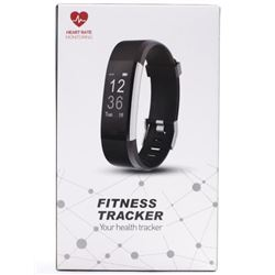 Fitness Tracker with Heart Monitor Pedometer. Spor