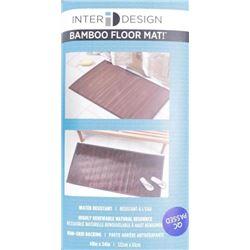 Bamboo Floor Mat 48x24 ξ