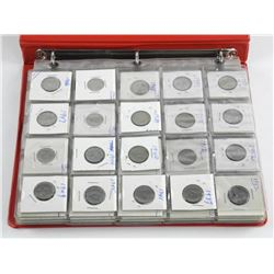 Estate Canada Coin Binder Lot.