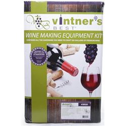 Vinter's Wine Making Equipment Kit. Makes 6 Gallon