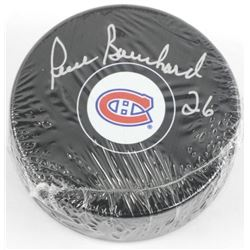 Pierre Bouchard (MTL) Puck Signed with C.O.A.