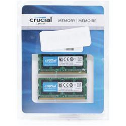 Crucial Memory Pack 2x8GBξDDR3Lξ- 1600 SODIMM (C