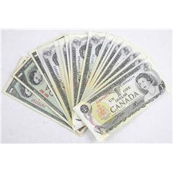 Estate Lot 41 Mixed $1.00 Notes.