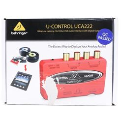 U-Control UCA222 USB Audio Interface (CP)