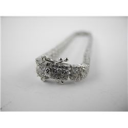 925 Silver Custom Bracelet Hand Set with 50 ct of