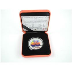 .9999 Fine Silver $1.00 Coin 'Love' 'Rainbow Lorik